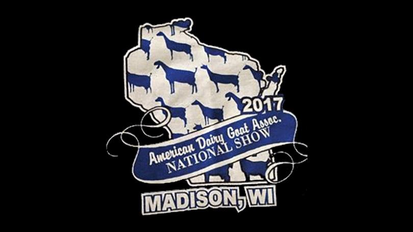 2107 ADGA National Show Logo